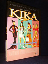 KIKA (DVD, 1998) Mint Disc•No Scratches•US•Out-of-Print•Peter Coyote•Image Enter