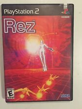 Rez (Sony PlayStation 2, 2002) Complete Near Mint Very Rare Lots Of Fun