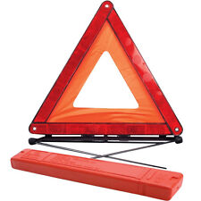 New Strong European Safety Car/Van EMERGENCY BREAKDOWN WARNING TRIANGLE + Case