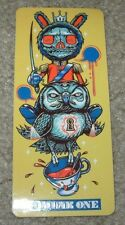 "MUNK ONE Sticker 4.5"" BLINK 182 LONDON from poster print Invisible Industries"
