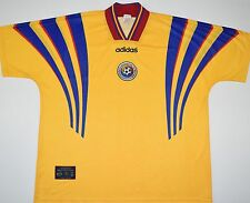 1996-1998 ROMANIA ADIDAS HOME FOOTBALL SHIRT (SIZE XXL)