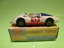 CORGI TOYS 330 PORSCHE CARRERA 6 - WHITE No 1 - 1:43 - GOOD CONDITION