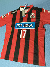 Consadole Sapporo 2015 Player Issue Soccer Jersey Football Shirt #17 Inamoto