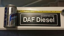 DAF Trucks Collectibes (Decal and Energy drink can) LOT of 2