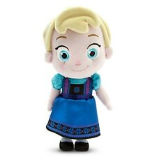 "DISNEY STORE AUTHENTIC FROZEN TODDLER ELSA PLUSH DOLL 13"" H ~ AWESOME!! NWT"