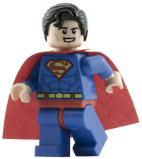 GENUINE Lego DC Juniors SUPERMAN Smiley Face Minifigure Original Super Man 10724