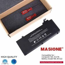 """Brand New Battery For Apple MacBook Pro 13"""" A1322 A1278 Mid 2009/2010/2011/2012"""