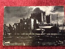 Blank Old Post Card - Castle Rushed, Castletown, I.O.M. by D.F & Co, York
