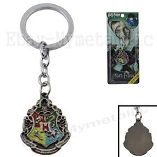 Harry Potter Wizard Hogwarts Logo Metal Key Chain Ring