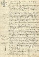 Pistoia - Scrittura Privata di Affitto del Podere Capannelle 1850