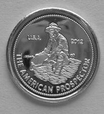 (25) 1 GRAM 0.999+ PURE SILVER AMERICAN PROSPECTOR 2014