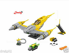 Lego Star Wars - Naboo Star Fighter - 75092 *NEW - NO BOX OR MINIFIGURES*