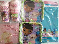 DOC McSTUFFINS - Disney  Birthday Party Supply Kit Pack for 16