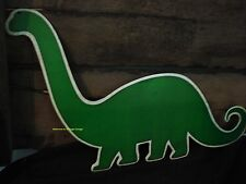 *NEW METAL SINCLAIR DINO SIGN* dinosaur gas motor oil station shop mancave pump