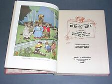 Enfantina the complete adventures of Blinky Bill Ed. Angus Robertson 1946 fine