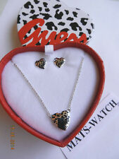 GUESS JEWELS + Set Regalo + UBS 91001+ ARGENTO + NUOVO/NEW