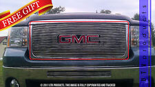 GTG, 2007 - 2010 GMC SIERRA 2500 HD / 3500 HD 1pc CHROME UPPER BILLET GRILLE