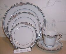 NEW Noritake ENHANCEMENT 5 Pcs Place Setting (s) Dinner Salad, B&B, Cup & Saucer