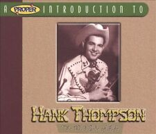 Hank Thompson: The Wild Side of Life .. 30 Original Capitol Recordings .. Hits
