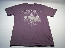 Port & Company 2014 Sherlock Holmes Theater Play T-shirt Men's Size M