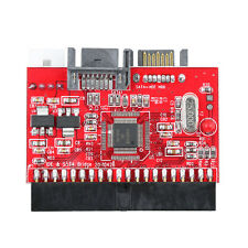 Red 2in1 IDE HDD to SATA Hard Drive Serial ATA 1.5 Gbp Converter ATA 100/133  UR