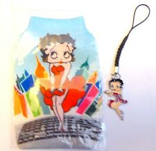 Betty Boop mobile phone MP3/iPod Soft Sock/Pouch + Free phone charm Gift idea