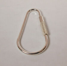 Sterling Silver Teardrop Key Ring Key Chain Made in the USA Free Shipping