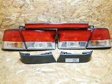 1998 2002 NISSAN SUNNY B15 SUPER SALOON KOUKI TAILLIGHT SET W TRIM RARE ITEM OEM