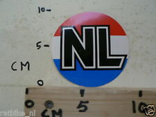 STICKER,DECAL NL COUNTRY ROOD WIT BLAUW