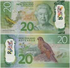 """New Zealand $20 P186""GraemeWheeler""GEM UNC Single Banknote""CONSECUTIVE NUMBER"""