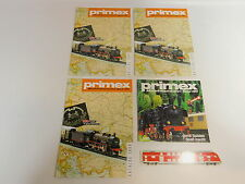 AS552-1# 4x Primex/Märklin H0 Catalogue/Magazine/Magazine: 1988+1981, very good