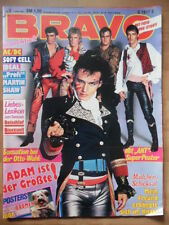 BRAVO 2 - 1982 (0) Adam Ant AC/DC ABBA Teens Soft Cell Ideal Andrea Jürgens