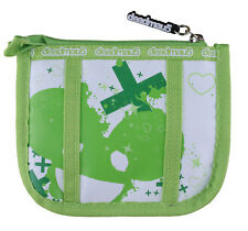 Deadmau5 Green & White Zippered Pouch Coin Wallet NEW