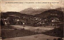 CPA  Le Haute- Jarrie (Isére) - Vue générale - Au fond, le Massif de .. (247369)