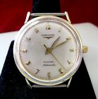 VINTAGE ADMIRAL LONGINES 1200 AUTOMATIC 10K GOLD FILLED WATCH NO BAND RUNS GREAT