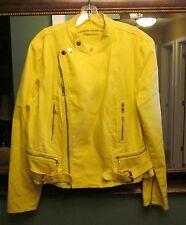 Beautiful RALPH LAUREN- Lauren Jean's Co. Yellow Jean Jacket-Size XL VERY NICE!