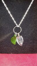 *Tear Catcher / Lachrymatory-Mourning Necklace in Victorian Tear Catcher-ash urn