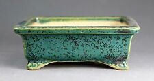 Tokoname Rect. Bonsai Pot by Kouyou, #a3680 : 103*84*H38mm