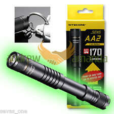 Nitecore SENS AA2 Mini LED Flashlight with ADT  170 Lumens - uses 2x AA