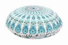 Indian Mandala Floor Pillow Wholesale Lot Round Tapestry Cushion Cover 32