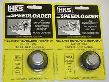 2 Pack HKS 587-A Speed Loader 357 mag S&W 686 Magnum PLUS 7 Shot
