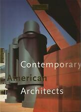 JODIDIO CONTEMPORARY AMERICAN ARCHITECTS TASCHEN + PARIS POSTER GUIDE Eng