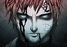 Poster A3 Naruto Shippuden Gaara
