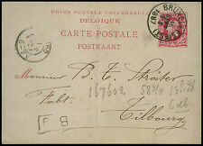 Belgium 1887, 10c Stationery Card #C20648