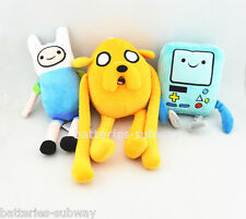 Lot 3 pcs Adventure Time with Finn and Jake Beemo stuffed Soft plush toy dolls