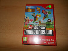 New super mario bros-Nintendo WII-uk pal-neuf non scellé