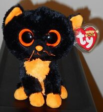 """NM* Ty Beanie Boos ~ MOONLIGHT the 6"""" Cat (RED TAG & Glitter Eyes) ~ NMWMT'S"""