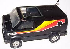 Nice! Vintage 1970's Tonka Black Van Pressed Steel Metal - Die-Cast - Diecast
