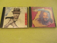 Luther Vandross Songs & Alexander O'Neal All Mixed Up 2 CD Albums Funk Soul 80s