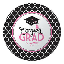 18 x Graduation Mortar Board party  Bumper Pack - Premium Strength Paper Plates